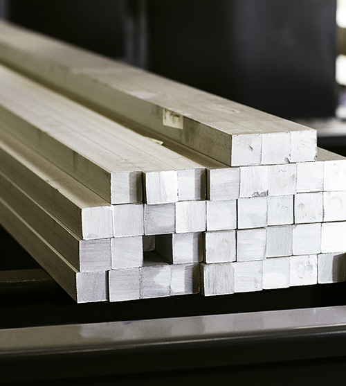 Hot-rolled square bars